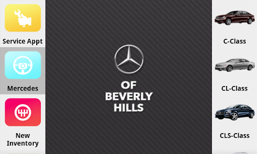 Mercedes benz of beverly hills apps on google play for Mercedes benz of beverly hills