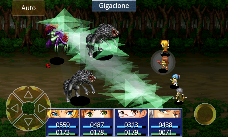 RPG Eve of the Genesis HD - screenshot
