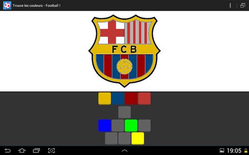 Find colors - Soccer