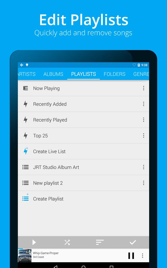 Rocket Player Premium Audio- screenshot