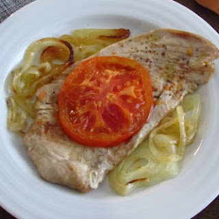 Turkey Steaks In The Oven With Tomato