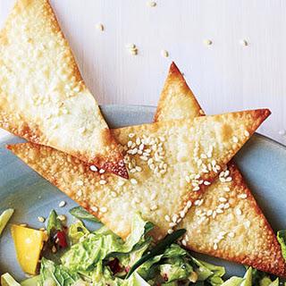 Sesame Wonton Crisps
