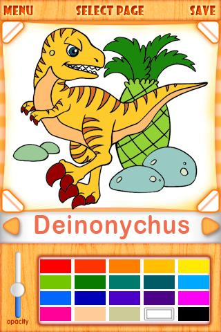 HappyColoring-Dinosaurs - screenshot