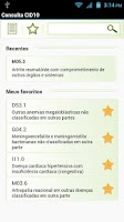 Screenshot of Consulta CID10 FREE