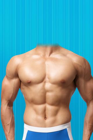 Man Body Builder Suit