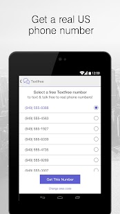 Text Free SMS + Calls- screenshot thumbnail