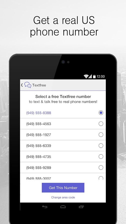 Text Free SMS + Calls- screenshot