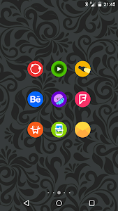 Goolors Circle - icon pack screenshot 13