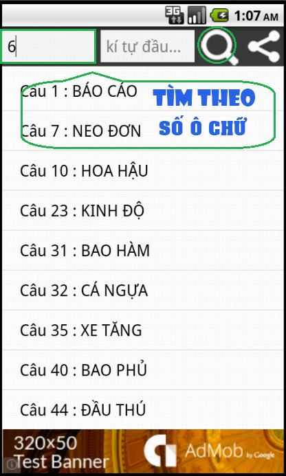 1540 Cau - Dap An Bat Chu - screenshot
