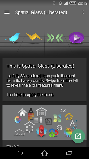 Spatial Glass Liberated