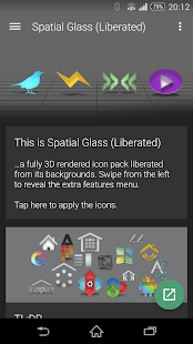 Spatial Glass (Liberated)- screenshot thumbnail