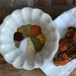 Mardi Gras Wings Seasoning.