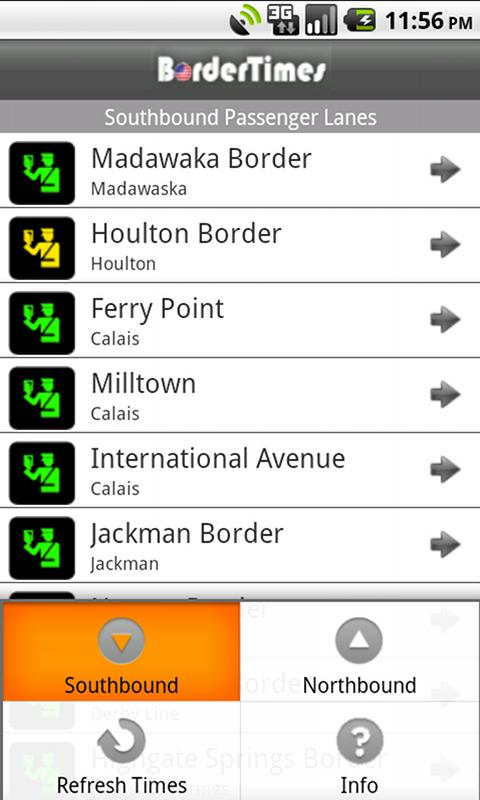 BorderTimes- screenshot