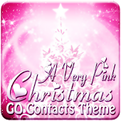 PINK Christmas GO Contacts EX