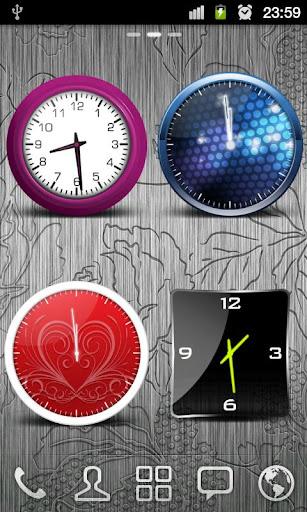 Beautiful Clock Widgets Free