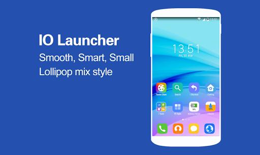 IO Launcher Lollipop mix i8