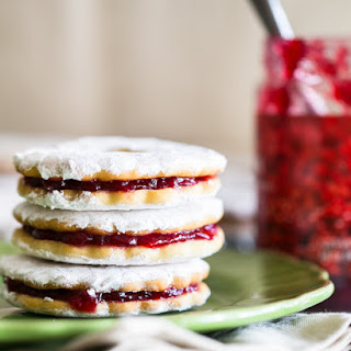Jam Filled Sandwich Cookies (Zirochki)