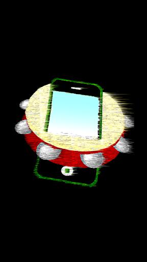 タンバリンを振って スマートフォンを振って!