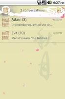Screenshot of EasySMS Mid Autumn theme