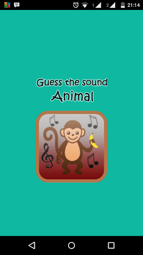 Guess the sound animal