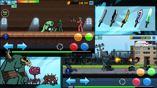 Anger Of Stick 4 Screenshot