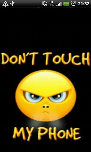 Dont Touch my Phone LWP