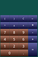 Screenshot of Calculator + Widget (Colorful)