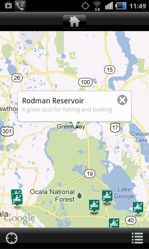 FL Black Bear Scenic Byway- screenshot