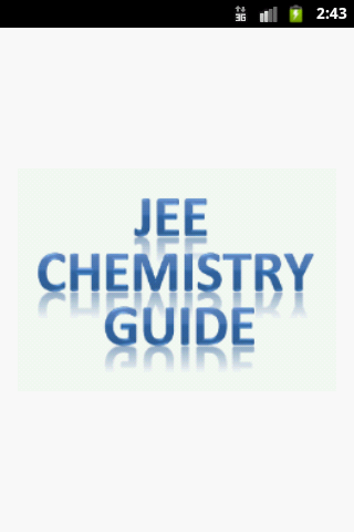 Jee Chemistry Guide
