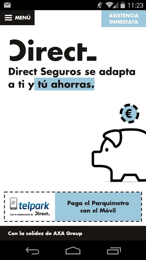 Direct - screenshot