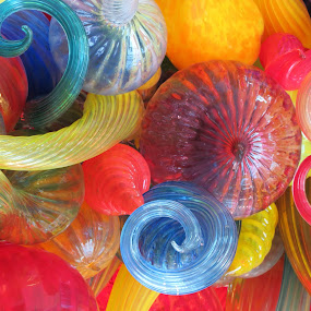 Chihuly Menagerie by Tanya Washburn - Artistic Objects Glass ( chihuly, colorful, globes, glass, swirls, mood factory, vibrant, happiness, January, moods, emotions, inspiration )