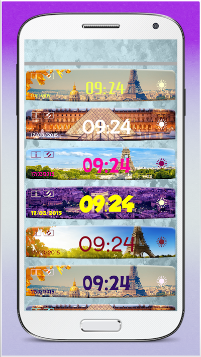 Paris Weather Clock Widget APK Download - Apkindo co id