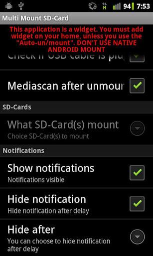 Multi Mount SD-Card v2.40 APK