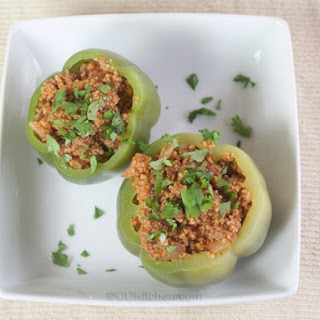 Couscous-Stuffed Peppers.