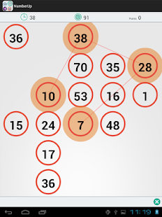 Number Up: The cool math game - screenshot thumbnail