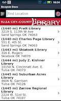 Screenshot of Tulsa City-County Library