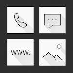 Mono & Grid Atom Iconpack