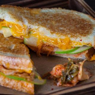 Grilled Kimcheese Sandwich.