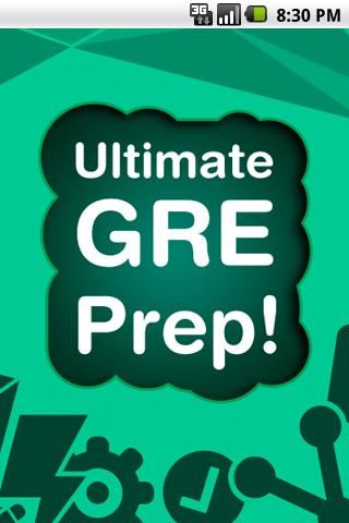 FREE - Ultimate GRE prep