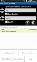 Screenshot of SVOX Spanish Noelia Voice