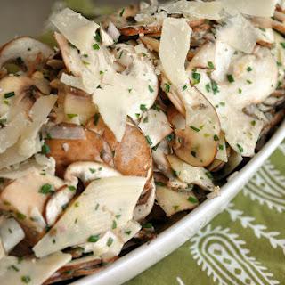Chef Paul's Mushroom Salad