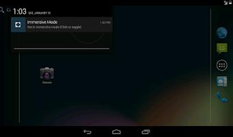 Screenshot of Immersive Full-Screen Mode