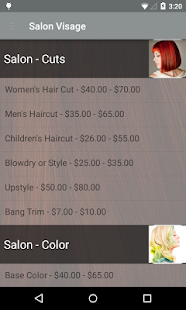 Salon Visage - Concierge- screenshot thumbnail