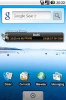 Screenshot of SatTrack DONATE