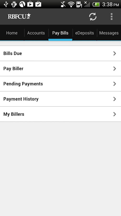 RBFCU Mobile- screenshot