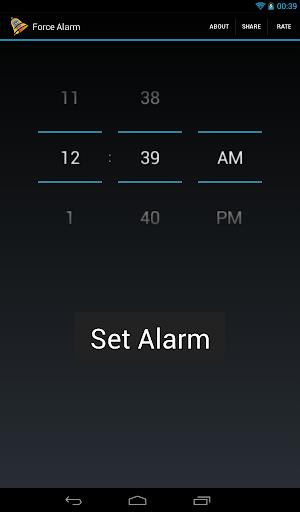 Force Alarm