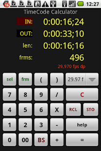TimeCode Calculator - screenshot thumbnail