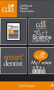 CDA (California Dental Assoc)- screenshot thumbnail