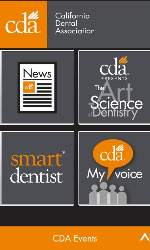 CDA (California Dental Assoc)- screenshot