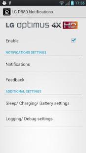 LG P880 Touch LED Notification - screenshot thumbnail